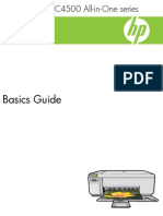 HP C4583 Basic Guide