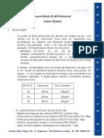 Ficha Tecnica Porta 50 DB Prof