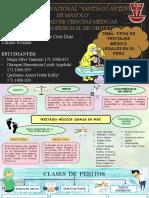 Tipos de Peritaje Médico Legales en Perú
