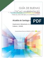 Guía de Buenas Prácticas Ambientales Para El Sector de La Construcción