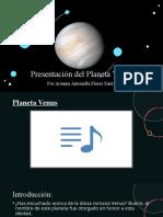 Presentación Del Planeta Venus