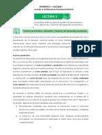 L2_Sectores Productivos, Elementos y Factores Del Desarrollo Económico
