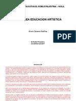 PLAN ESTUDIOS ARTISTICA 2017