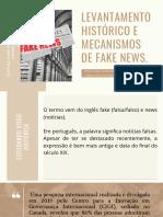 Histórico das Fake News