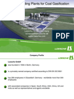 Loesche Grinding Plants for Coal Gasification