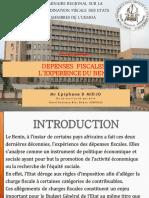 Dépenses fiscales_Expérience du Benin