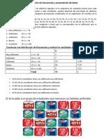 Practica II distribucion de frecuencias y presentacion de datos, ejs - 3,4,5,7,10.