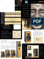 Tannoy Mercury M1 brochure