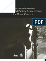 Manure & Pasture Managment for Horse Owners