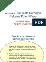 Análisis Propuesta Reforma - Jeanette Vega