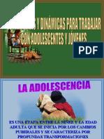 Taller de Estrategias y Dinamicas Para Adolescentes y Jovene