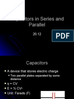 20-12 Capacitors in Series and Parallel