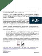 Le communiqué de la Préfecture du Puy-de-Dôme