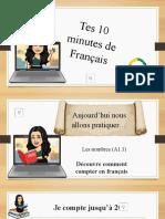 Tes 10 Minutes de Français - Vocabulaire A1.1 Les Nombres