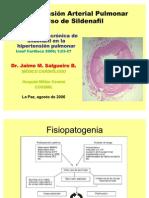 Hipertensión Arterial Pulmonar - Sildenafil