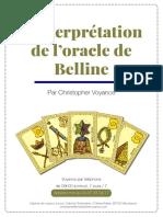 Interprétation Cartes Oracle Belline