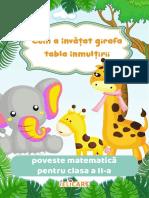 Cum a Invatat Girafa Tabla Inmultirii