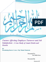Factors Affecting Employee Turnover and Job Satisfaction a Case Study of Amari Hotels and Resorts Boondarig Ronra and Assoc. Prof. Manat Chaisawat