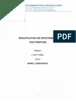 PROCEDURE DE REVETEMENT UTBS