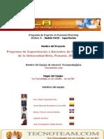 Proyecto de Capacitación Docente- Asesores Tecnoteam