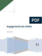 Engagement de credit