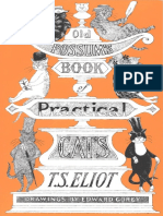 Old Possums Book of Practical Cats by T. S. Eliot Excerpt
