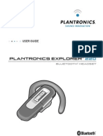 PLANTRONICS EXPLORER 220 MANUAL
