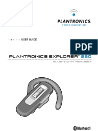 plantronics bluetooth headset instructions