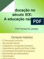 Educação No Século XIX