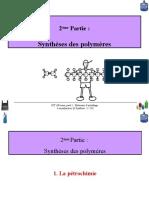 3-Synthèse Des Polymères Etudiant 2020(2)