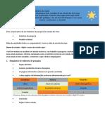 Dois componentes de um Relatório de pesquisa de estado dos EUA