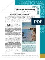 Capacity for Stewardship of Oceans and Coasts, Report in Brief