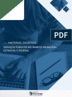 4 Serviços Públicos no âmbito Municipal, Estadual e Federal