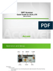 XCAL_DRT LTE Scanner Quick Guide
