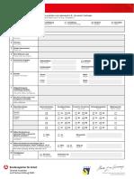 Registrierungsbogen
