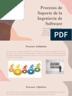 Procesos de Soporte de la Ingeniería de Software - Grupo 10