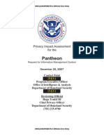 DHS ~ Pantheon Request for Information Management System (redacted version)