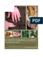 A Seed Saving Guide for Gardeners and Farmers; by Organic Seed Alliance