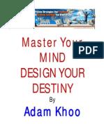 Adam Khoo Master Your Mind Design You Destiny
