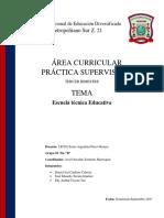 INVESTIGACION. Esculas Tecnicas Educativas, InTECAP 9092021