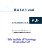 LabVIEW Lab Manual