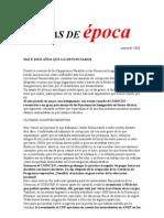 47 marzo 2006. Cargos contratados en Gerencias.