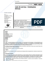 NBR 14639 - Posto de Serviço - Instalações Elétricas