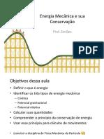 Energia Mecânica e Conservação - slides da aula