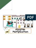 Monster Multiplication - Snipits