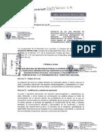 Proyecto de Ley N° 00269/2021-CRL - Perú Libre