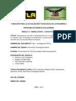 Propuesta que permita la implementación de un programa de capacitación en relación a las Tecnologías de Información y Comunicación (TIC's) dirigido a los docentes de la Universidad Beta de Panamá