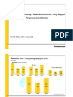 Anyagmozgatási beruházások 2011