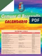 Calendario Borgarello 2019