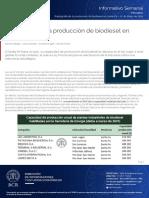 Radiografía de La Producción de Biodiesel en Santa Fe